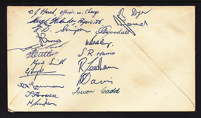 Aat 1968 Macquarie  Expedition Signed By Just About Everyone There!!!!!!!