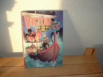 The Victor Book For Boys Annual 1983