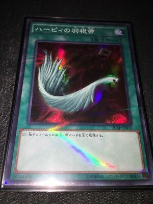 Yu-Gi-Oh Harpie's Feather Duster 20AP-JP015 Super Parallel Rare Japan New