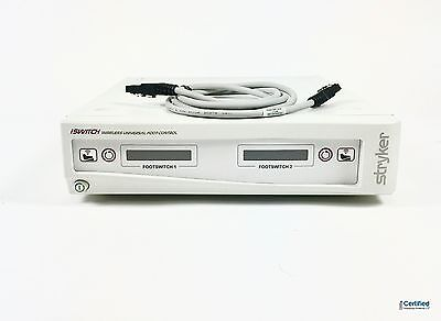 Stryker iSwitch Wireless Footswitch Console w/FireWire Cable