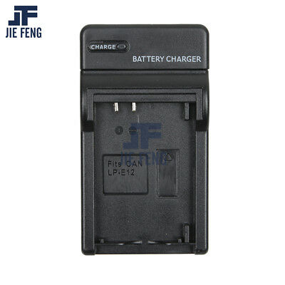 LP-E12 LPE12 Battery Charger for Canon EOS M, Rebel SL1, EOS 100D Camera