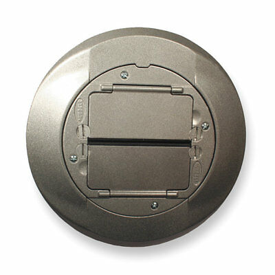 New Hubbell Carpet Flange Aluminum S1Cfcal