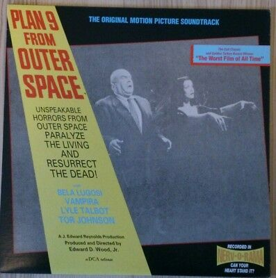 Plan 9 from Outer Space  Vinyl audio track Hörspiel