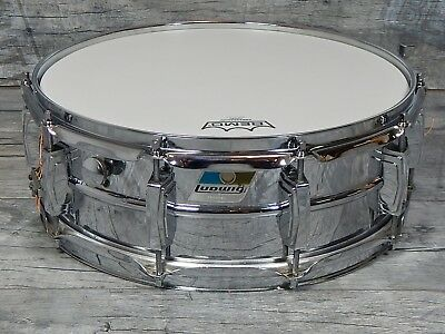 "Ludwig 1976 Supraphonic 14"" x 5""  USA Vintage Snare Snaredrum LM-400"