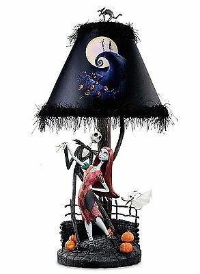 BRADFORD EXCHANGE - Tim Burton's The Nightmare Before Christmas Lamp