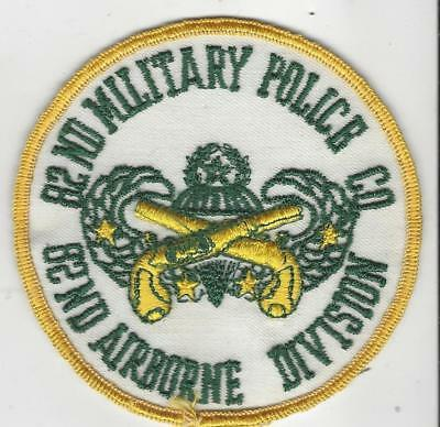 "VN War / later  82nd Airborne military police patch, about 4"", nice"