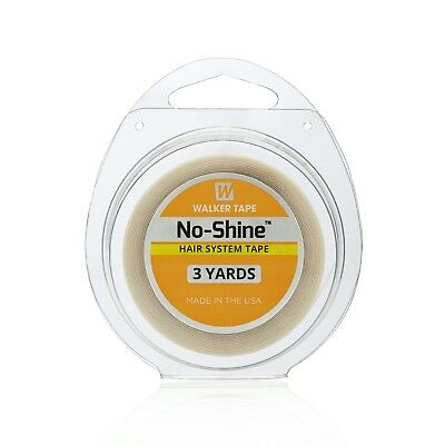 """Walker No Shine Roll Tape Lace wig & toupee Hairpiece Tape (1/2"""" x 3 Yards)"""
