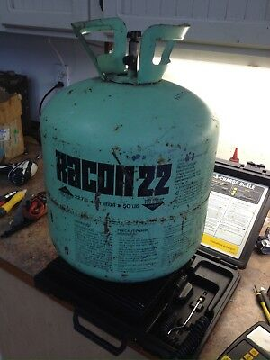 R-22 Refrigerant Weight Of Cylinder & Contents 20.75 Lbs Jug