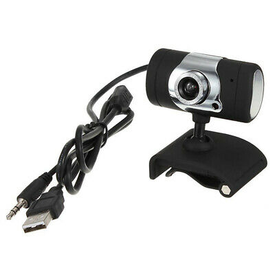 3.0 Mega Pixel USB with microphone Webcam HD Camera for Notebook Laptop PC H4B4