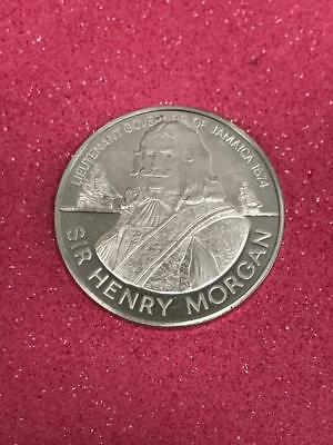 1oz+ 1974 Jamaica Sir Henry Morgan $10 Sterling Proof **FREE SHIPPING**