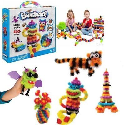 400/800/1200 Bunchems Mega Pack Children Toy Festival Birthday Gift Thorn Ball
