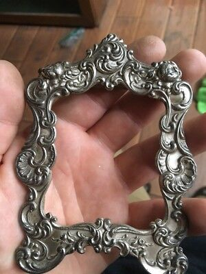 Sterling Gorham Picture Frame For Scrap Or Repair
