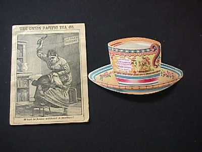 The Union Pacific & The Great Atlantic & Pacific Tea Co. Victorian Trade Cards