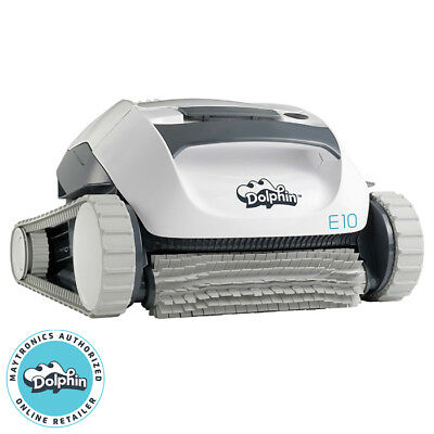 DOLPHIN E-10 ROBOTIC Swimming Pool Cleaner - Small InGround/Above ...