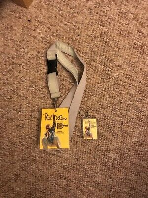 Phil Collins Final Farewell Tour Lanyard & Key ring