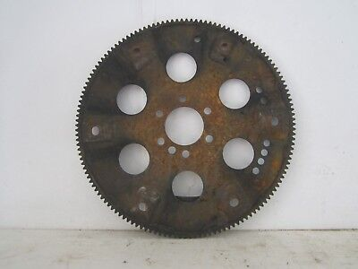 "Vintage Large 14 1/4"" Rusty Metal Steel Flywheel Gear Industrial Steampunk"