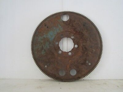 "Vintage Large 13 3/4"" Rusty Metal Steel Flywheel Gear Industrial Steampunk"