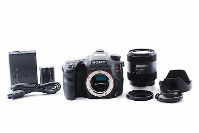 Sony Alpha SLT-A77 24.3MP Digital SLT Camera W/ SAL1680Z Lens from Japan