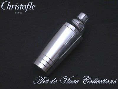 Christofle FOLIO, ART DECO, Large Cocktail Shaker , brilliant luster 24cm