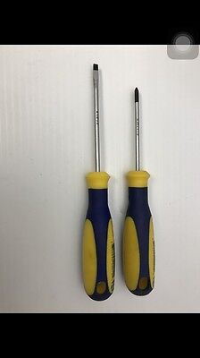 "Napa 2 pc Screwdriver 1/8"" X 3 & #0 X 2-1/2"" Made In Germany"