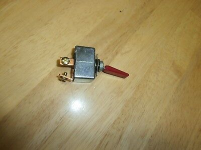 50 Amp Philmore 30-12242, 12 Volt DC High Current Toggle Switch w/Red Handle