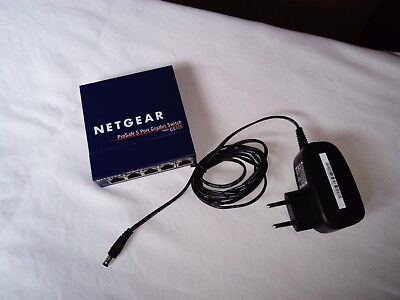 NetGear ProSAFE 5 Port Gigabit Switch