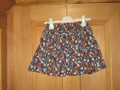 Girls Floral Next Skirt 3-4 Years