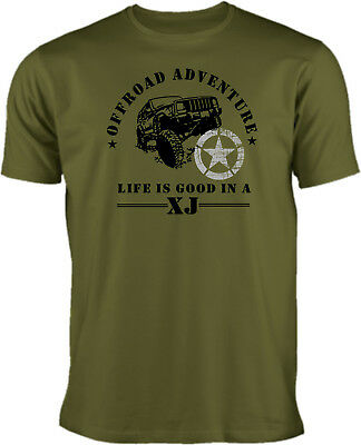 T Shirt- American Offroader - Jeep Cherokee XJ