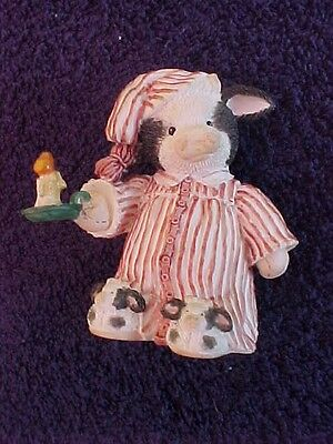 Mary's Moo Moos Once upon a Midnight Steer cow figurine c1994 #651680