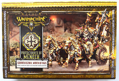 Warmachine Protectorate of Menoth Servath Reznik, Wrath of Ages PIP 32099
