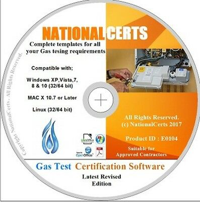 Gas Certificates/Software for Corgi/Gas Safe Gas Safety Landlord Certificates
