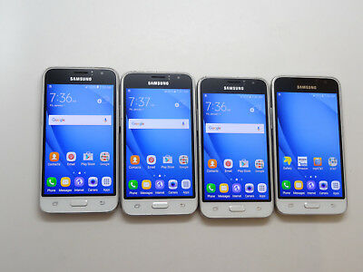 Lot of 4 Samsung Galaxy Express 3 8GB J120A AT&T Smartphones AS-IS GSM #
