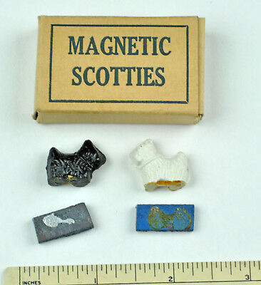 Magnetic Scotties Scotty dog Penny toy in original box!