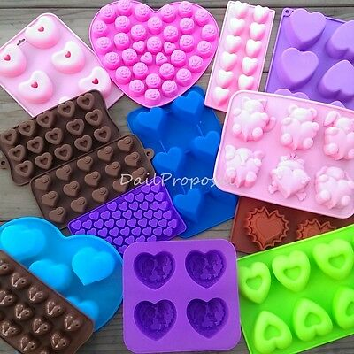 Valentine's Love Silicone Mold Chocolate Butter Candle Candy Ice Soap Jelly USA