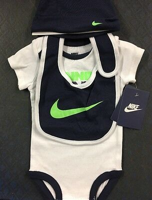 Sale!!! 3 Pc Nike Baby Set, Size 9/12 M