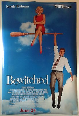 "BEWITCHED double sided movie poster 27""x 40"""