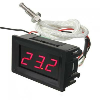 DC 12v LED Digital Thermocouple Thermometer Temperature Meter Tester With Probe