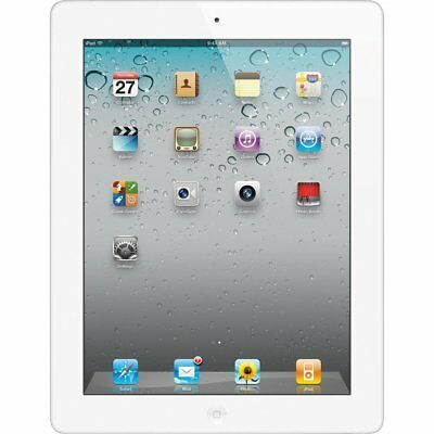 Apple iPad 4th Generation 16GB, Wi-Fi, 9.7in -White - Used - Tested Bundle A1458