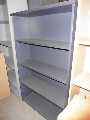 Office Charcoal Bookcase 1500Mm Brisbane