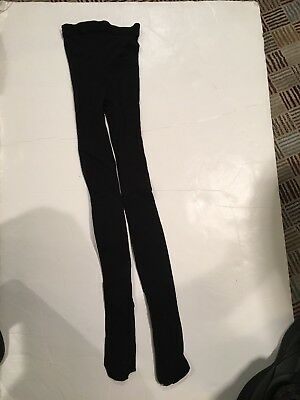 Bloch Footed Black Tights Child Size A