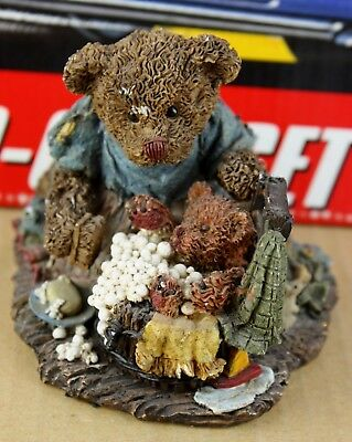 1995 Ganz Cottage Collectibles Annie Rusty Bath Time Resin Statue 3-1/2-in Tall