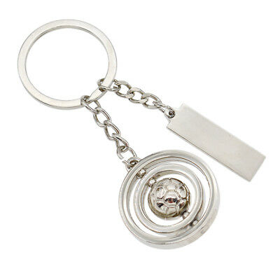 Rotating Football Keychain Keyring Portable Creative Gifts Fashion Hot Sale 1x