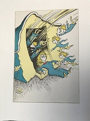 """Dr.Seuss-Theodore Geisel (1961) 8""""by11""""matted to 11""""by14"""" Print W COA. New!!"""