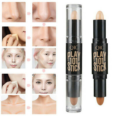 Natrual Cream Face Eye Pen Stick Makeup Foundation Concealer Highlight Contour
