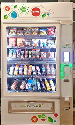 Vending Machine-Snack/Beverage Combo/Digital/Credit Card/NFC/High Tech!