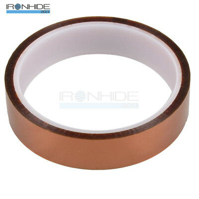 20mm 100ft 30m Gold Kapton Tape High Temperature Heat Resistant Polyimide