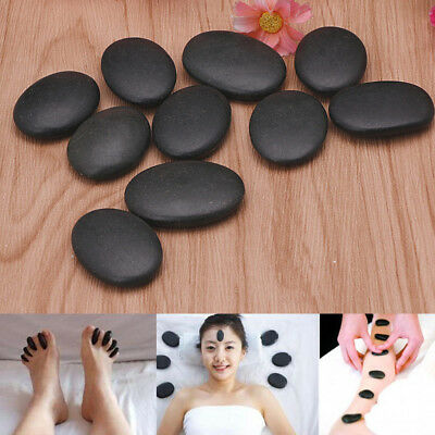 Massage Spa Hot Stone Toe Spa Kit Basalt Rock Therapy Asst Relaxing 7pcs