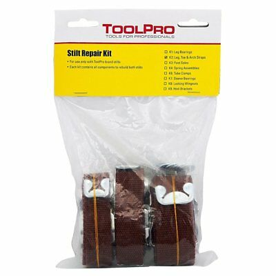 ToolPro Replacement Strap Set for Stilts