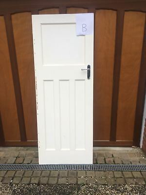1957x755mm 4 PANEL 1930u0027S STYLE INTERNAL INTERIOR DOOR