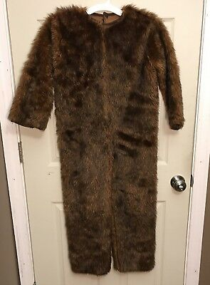 RARE Rubies 2005 Star Wars CHEWBACCA Suit Hairy Costume BODYSUIT ONLY KIDS M
